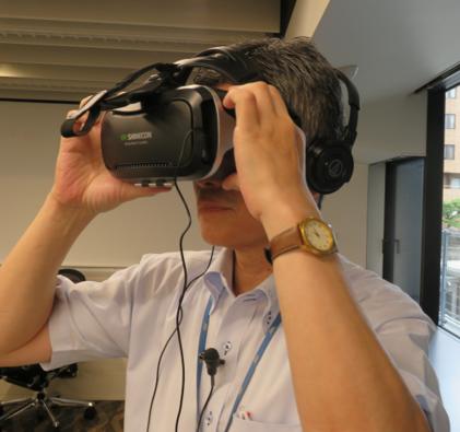 【公開研修 開催報告「VR(バーチャル・リアリティ)を使った演習」】
